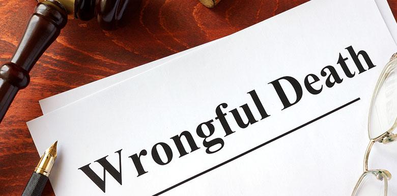 wrongful death lawsuit file
