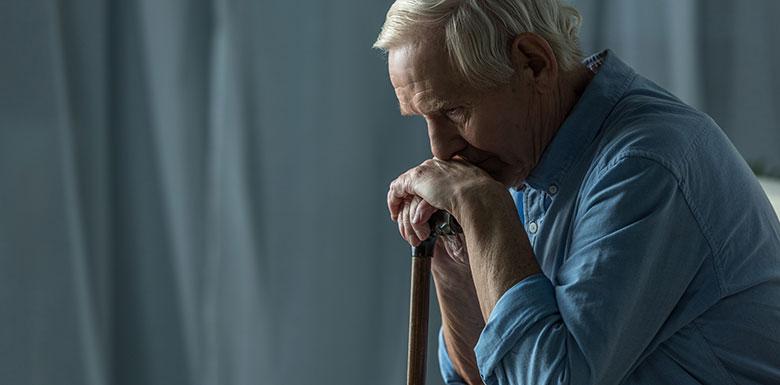 old man suffers nursing home abuse